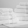 ULTRA SOFT TOWEL COLLECTION | WHITE